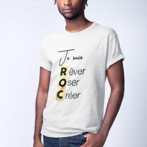 T-shirt «Je suis ROC»